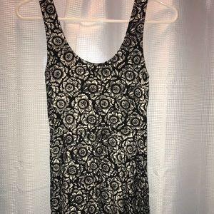 Small black and white sun dress